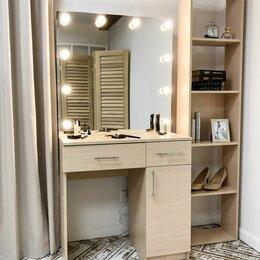Столы и столики - Макияжный столик и зеркало с подсветкой, 0