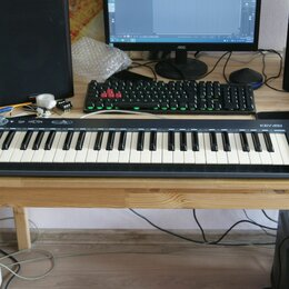 Клавишные инструменты - Миди клавиатура Axlevox 49, 0