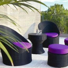 Плетеная мебель - Комплект «Тропикана»из искусственного ротанга, 0