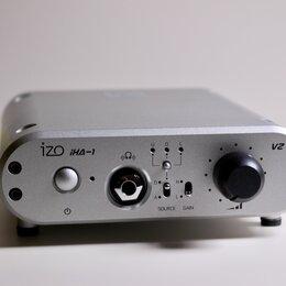 Цифро-аналоговые преобразователи - Усилитель для наушников + ЦАП Hi-End DAC IZO iHA-1, 0