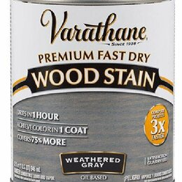 Масла и воск - Интерьерные лаки, масла Varathane Масло Varathane Fast Dry тонирующее Угольны..., 0