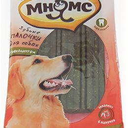 Туалеты и аксессуары  - Мнямс Зубные палочки для собак с эвкалиптом, 6 шт. х 20 г, 12 см , 0