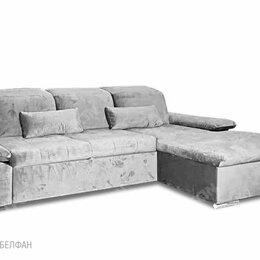 """Диваны и кушетки - """"Престон"""" диван с оттоманкой; раскл.; 2ML8MR; """"Дельфин"""" (1940х1360); 852(1) (..., 0"""