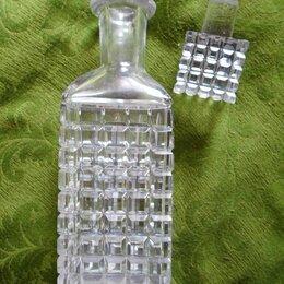 Кувшины и графины - Штоф хрустальный под напитки, 0