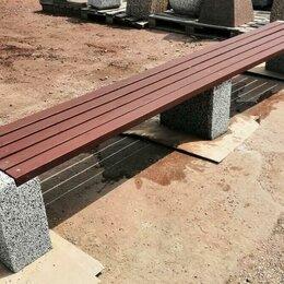 Скамейки - Скамейка бетонная Евро 1 Лайн, 0