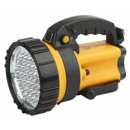 Фонари - ЭРА фонарь-прожектор АЛЬФА PA-603 (Li акк.3Ah) 36св/д(245lm) черн.+желт./плас..., 0