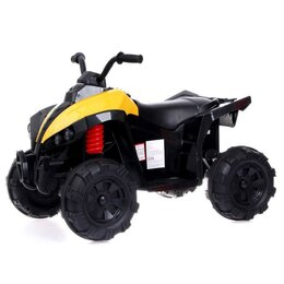 Электромобили - Электромобиль «Квадроцикл», 2 мотора, цвет жёлтый, 0
