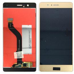 Дисплеи и тачскрины - Дисплей для Huawei P9 Lite (2016) золотой, 0