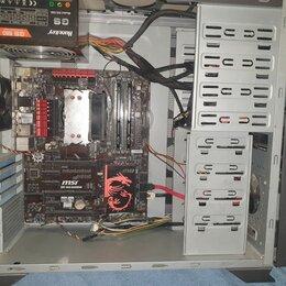 Настольные компьютеры - Компьютер на базе I5-4460 16гб (без видеокарты), 0