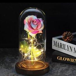 Цветы, букеты, композиции - Роза в колбе с подсветкой , 0