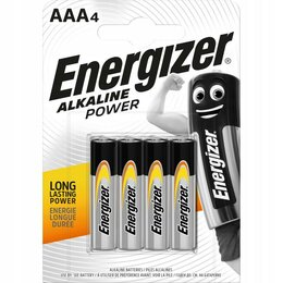 Батарейки - Батарейки Energizer Power E91/AA 4 шт., 0