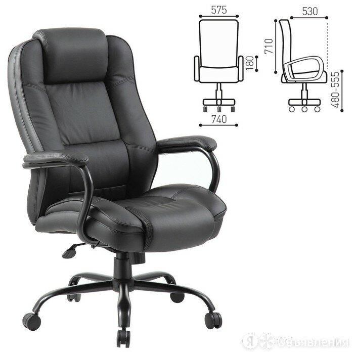 """Кресло офисное BRABIX PREMIUM """"Heavy Duty HD-002"""", усиленно... по цене 36047₽ - Компьютерные кресла, фото 0"""