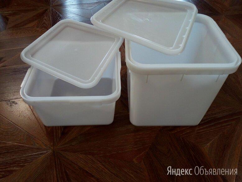 Куботейнер12л.23л. пищевой с плотной крышкой. по цене 248₽ - Контейнеры и ланч-боксы, фото 0
