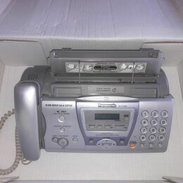 Проводные телефоны - Проводной телефон факс Panasonic KX-FC243, 0