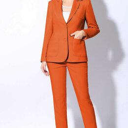 Костюмы - Костюм 31097 LENATA оранжевый Модель: 31097, 0