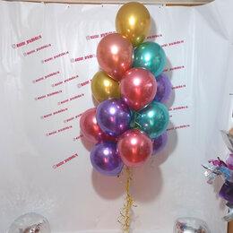 Воздушные шары - Фонтан из шаров хром ассорти, 0