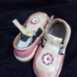 Босоножки, сандалии - Сандалии  для девочки розовые перламутровые, 0