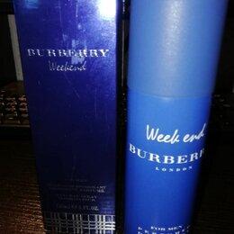 Дезодоранты - парфюмированный дезодорант - спрей  Burberry Weekend (мужской), 0