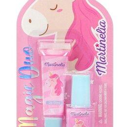 Наборы - Набор косметики для девочек Martinelia Маленький единорог Бальзамы для губ, 0