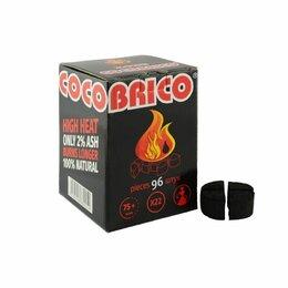Уголь - Уголь для кальяна cocobrico 96 кубиков 22мм, 0