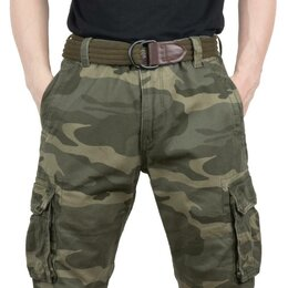 Брюки -  Штаны Abercrombie & Fitch мод A168 Green Woodland, 0
