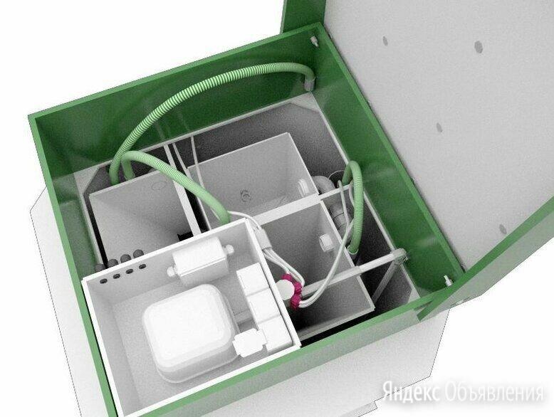 Биодека-6 С-1300 (автономная канализация по цене 108800₽ - Септики, фото 0