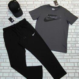 Спортивные костюмы - Спортивная одежда футболка и штаны Nike серый, 0