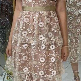 Платья - Вечернее платье , вышита пайетками, 0