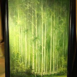 Картины, постеры, гобелены, панно - «Зелёная роща» Петров М.О., масло, холст 50 х 70, 0