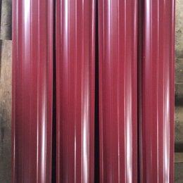 Заборчики, сетки и бордюрные ленты - Металлический штакетник рал 3005 красное вино, 0