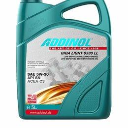 Масла, технические жидкости и химия - Масло моторное ADDINOL Giga Light MV 0530 LL 5W-30, 5L, 0