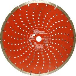 Диски отрезные - Сегментный отрезной алмазный диск TRIO-DIAMOND Grand hot press GUS729, 0