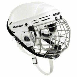Спортивная защита - Шлем хоккейный игрока Bauer 2100 Combo c маской бел (х2), 0