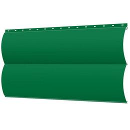 Сайдинг - Сайдинг металлический Блок-Хаус под бревно RAL6029 Зеленая Мята, 0