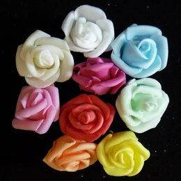 Краски - Латекс цветы 3см закрученные (оптом - 20 штук), 0