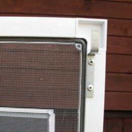 Сетки и решетки - Москитная сетка  на кронштейнах металл, 0