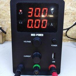 Лабораторное и испытательное оборудование - Лабораторный блок питания 30в 10а цифровой, 0