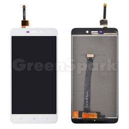 Дисплеи и тачскрины - Дисплей для Xiaomi Redmi 4A + тачскрин (белый) (100% LCD), 0