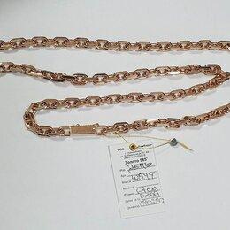 Цепи - Новая золотая цепь 105.49г 67см, 0