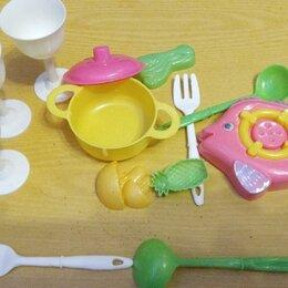 Игрушечная еда и посуда - Кухонный набор, 0