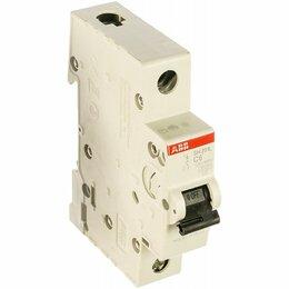 Аксессуары и запчасти - Автоматический выключатель 1-пол. SH201L C10 (10А), 0