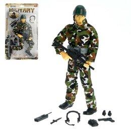 Солдатики - Солдат «Спецназовец», с аксессуарами, 0