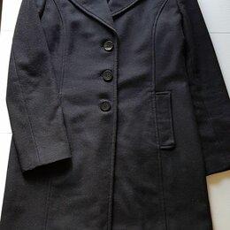 Пальто - пальто PENNYBLACK шерсть размер 44-46 черное, 0