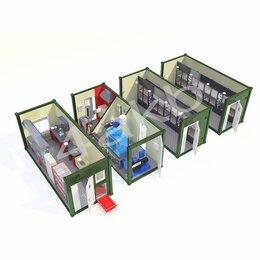 Аккумуляторы и комплектующие - Мобильные аккумуляторные мастерские на базе 4-х кузовов контейнеров АМ-4К-80, 0