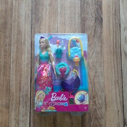 Куклы и пупсы - Barbie Заботливая принцесса Детский сад для драконов GJK51, 0