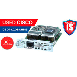 Прочее сетевое оборудование - Cisco HWIC-4SHDSL (used), 0