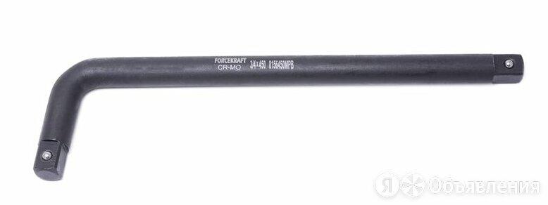 Вороток Г-образный двухсторонний ударный CR-Mo, 45 по цене 911₽ - Грузоподъемное оборудование, фото 0