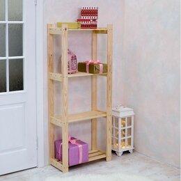 """Кровати - Стеллаж деревянный """"Альфа"""", 64×28×159см, 0"""