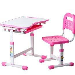Компьютерные и письменные столы - Парта и стул растущие Sole, 0