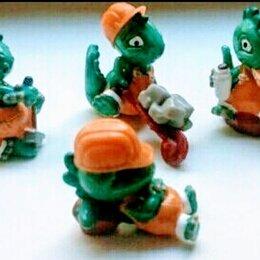 Киндер-сюрприз - Коллекция динозавриков из киндер сюрприза 1992, 0